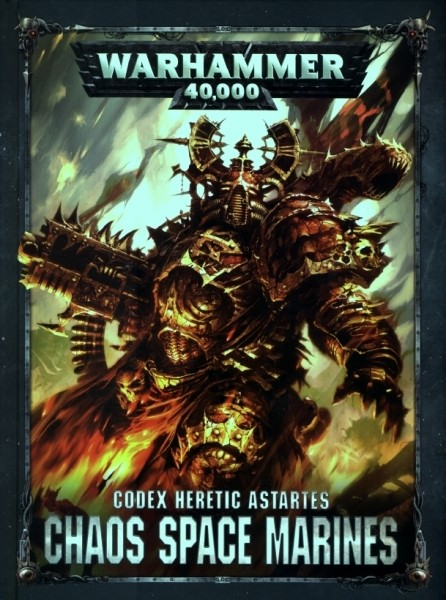 Codex: Chaos Space Marines, 8. edice
