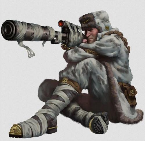 Valhallan Ice Warriors Sharpshooter
