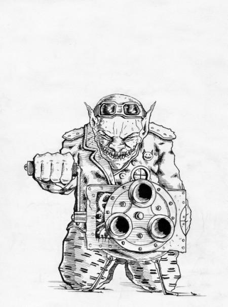 Goblin – střelec