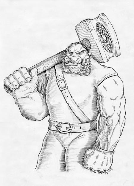 Zlobr – zápasník