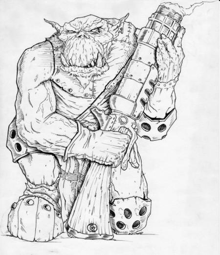 Ork – střelec