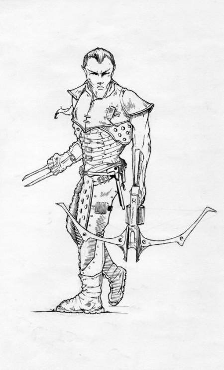 Lesní elf – střelec
