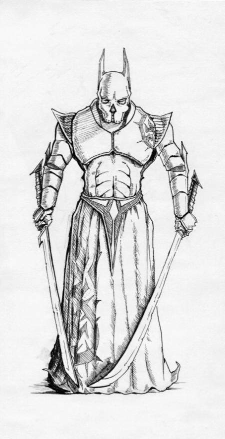 Temný elf – zápasník