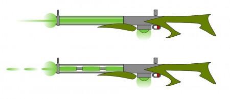 Paprsková a pulzní neutronová puška