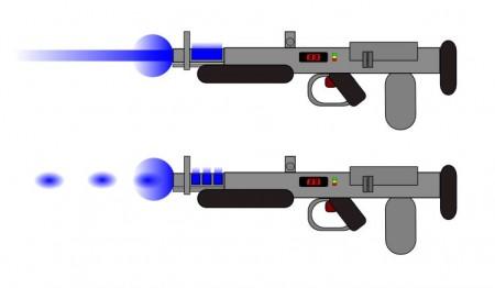 Paprsková a pulzní plazmová puška