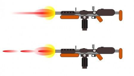 Paprsková a pulzní fúzní puška