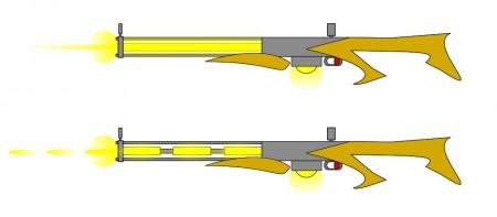 Paprsková a pulzní elektronová puška
