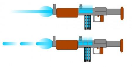 Paprsková a pulzní iontová puška